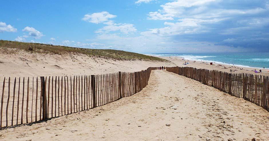 Village Vacances dans les Landes : la plage à proximité